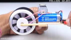 آموزش ساخت اسباب بازی موتور سیکلت حرکتی