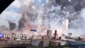 انفجار مهیب در کارخانه فشفشه سازی ترکیه 2