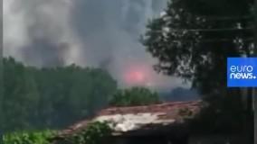 انفجار مهیب در کارخانه فشفشه سازی ترکیه 1