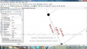 وارد کردن مشخصات لوله ها در WaterGEMS