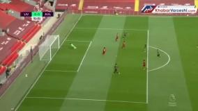 خلاصه بازی لیورپول ۲-۰ استون ویلا
