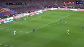 خلاصه بازی بارسلونا ۱-۰ اسپانیول