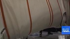 دو نهنگ سفید در پناهگاه جدید دریایی رها شدند