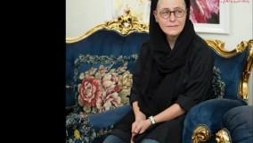 بازیگران سیاه پوش برای وداع با ماه چهره خلیلی