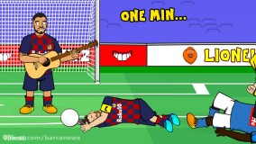 انیمیشن طنز گل مسی به ناپولی ; واکنش هواداران رئال و کریستیانو !