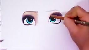 آموزش نقاشی السا