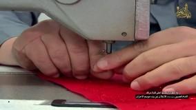 """مراحل آماده سازی پرچم گنبد """"حرم امام حسین"""" علیه السلام"""