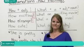 یادگیری علائم تعجبی در زبان انگلیسی