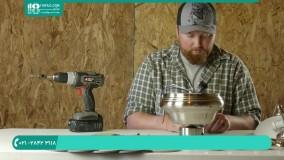 راه اندازی و اتصال قطعات پنکه سقفی