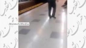 بی حجابی در مترو