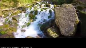 طبیعت آبشارآب پری