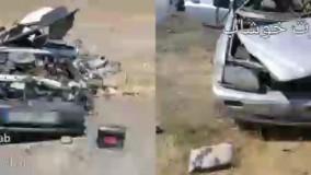 جزئیات تصادف زنجیرهای مرگبار در سبزوار