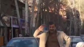رقص بدل «محمود احمدی نژاد»