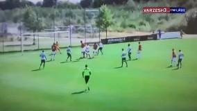 گلزنی عزتاللهی در اولین بازی برای وایله دانمارک