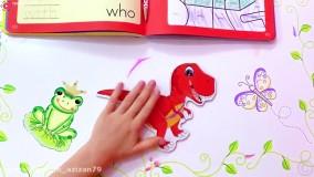 ماجراهای ناستیا و استیسی : برنامه کودک ناستیا : شوخی و اذیت پدر