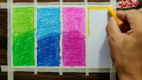 نقاشی با پاستل روغنی - ﺩﺭﺧﺖ و ﺷﮑﻮﻓﻪ - قسمت 1