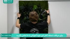 روش نصب مستقیم دیوار پوش سه بعدی بر روی دیوار