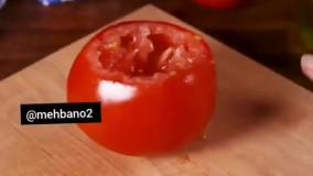 فیلم اموزشی دلمه گوجه فرنگی