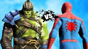 نبرد خونین مرد عنکبوتی با هالک گلادیاتور