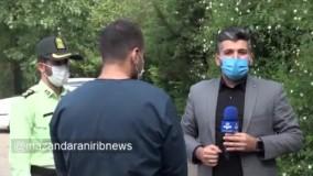 صحبت های مسافر هتاک به مازندرانی ها پس از دستگیری