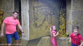 دیانا و روما : یک روز سرگرم کننده در موزه