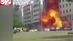 انفجار در ابوظبی همزمان با اولین پرواز اسرائیل