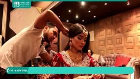 گریم و میکاپ چشم به سبک هندی