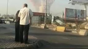 شنیده شدن صدای انفجار در پایتخت لبنان