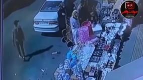 کیف قاپی در میدان شوش در کسری از ثانیه!