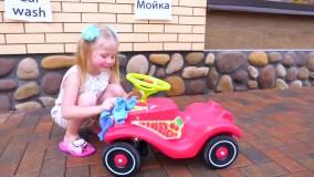 ماجراهای ناستیا و بابایی : بازی ناستیا و بابایی در فروشگاه اسباب بازی