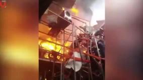 آتش سوزی در بیروت 1