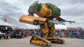 عجیب ترین و دیوانه وار ترین ربات های غول پیکر دنیا که همه رو شگفت زده کردند!
