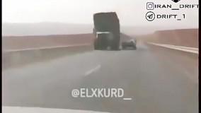 شوخی خطرناک شوتی با کامیون