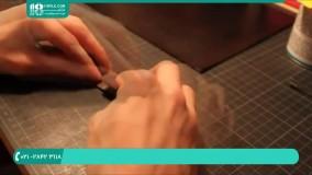 آموزش دوخت جلد ( کاور ) چرمی برای دفترچه