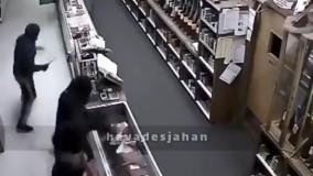 سرقت از انبار اسلحه به روش هالیوودی
