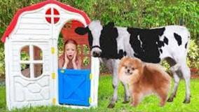 ناستیا و بابایی ؛ ناستیا و یک مجموعه خنده دار از داستان های تابستانی برای کودکان