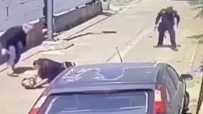 حمله با قمه به پلیس