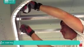 نصب کناف برای سقف آشپزخانه