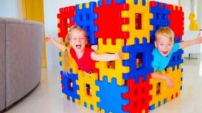 گبی و الکس : بازی با بلوک های اسباب بازی