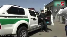 وحشی های قزوین دستگیر شدند + فیلم حمله به یک زن در خیابان خلوت