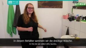 لغات پرکاربرد در مورد لباس و خشکشویی به زبان آلمانی