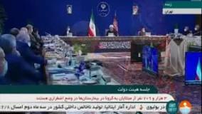 روحانی: در مقابله با تحریم ها یک معجزه اتفاق افتاد