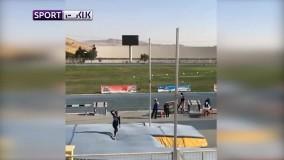 رکوردشکنی بانوی ایرانی در رشته پرتاب با نیزه