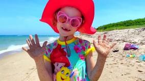 ناستیا و یک ماجراجویی سرگرم کننده در ساحل