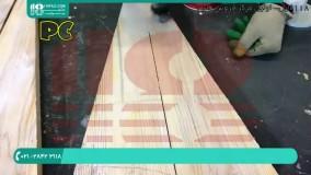 آموزش ساخت میز رزینی همراه باسنگ های کریستالی