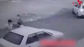 شناسایی سارقان خودرو در اهواز + فیلم لحظه سرقت