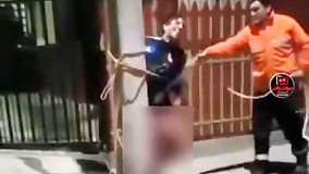 مجازات یک دزد در شیلی