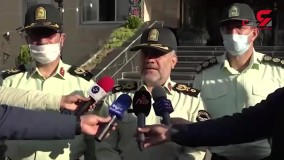 پلیس اراذل و اوباش های تهرانپارس را در خیابان ها گرداند