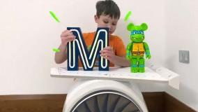مکس و کتی ؛  اتاق جدید با اسباب بازی های جدید برای مکس و کتی