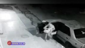 سرقت وحشیانه ۳ مرد مسلح از یک زن در دزفول